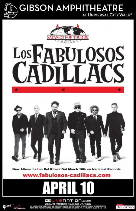 los-fabulosos-cadillacs-poster